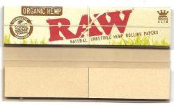 Raw Organic Hemp King Size with Tips