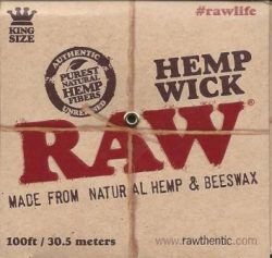 Raw Hemp Wick Ball - 100ft
