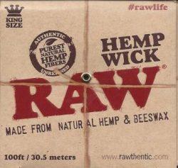 Raw Hemp Wick Ball - 100ft