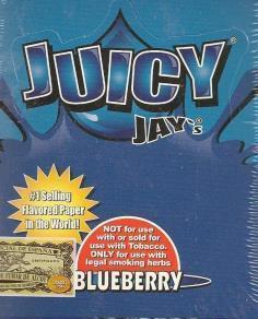 Juicy Jay 1.25 Size - Blueberry