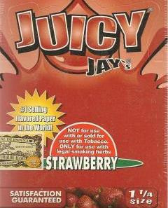 Juicy Jay 1.25 Size - Strawberry