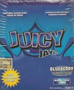 Juicy Jay King Size - Blueberry