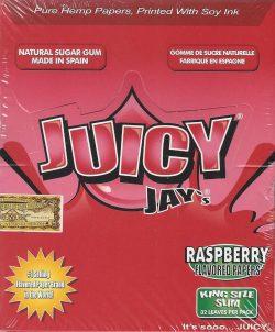Juicy Jay King Size - Raspberry